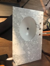 Damaged Counter top