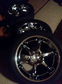 20inch rims and tires in very great shape balanced 36 mi