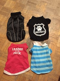 Small dog clothes  Toronto, M9N 2S7