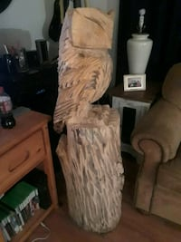 Chainsaw carved owl Thornton, 80260