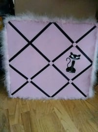 Girl Children tack board.