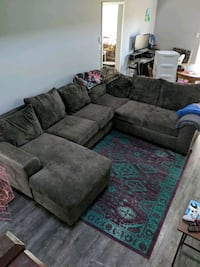 Nice comfy sectional couch