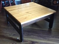 rectangular brown wooden coffee table Surrey, V3R