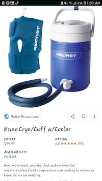 Cryo Cuff Knee Aircast Washington