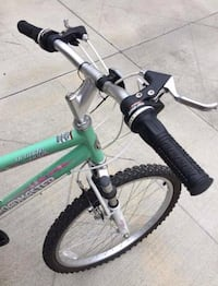 green and black hardtail mountain bike Irvine, 92602