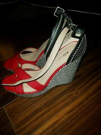 Just Fab wedges worn once size 11 Severn, 21144