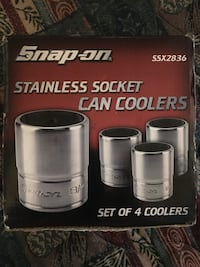 Snap-On Stainless Socket Can Coolers Oklahoma City