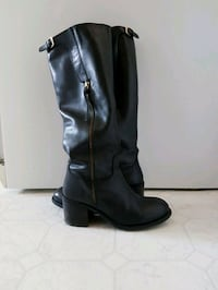 Steve Madden leather boots (Size 9.5)