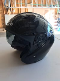 Black 3/4 face motorcycle helmet size large Frederick, 21701