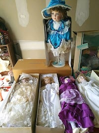 Collectable dolls  Middletown, 19709