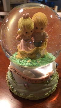 Precious Moments Musical Snow Globe