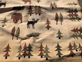 Wilderness area rug