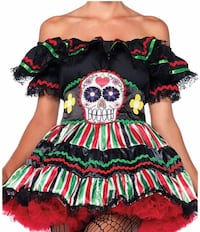 Day of the dead costume! London, SW6