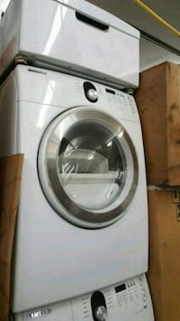 white front-load clothes washer Alexandria, 22310