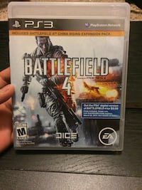 Battlefield 4 Sony PS3 game case Winchester, 22603