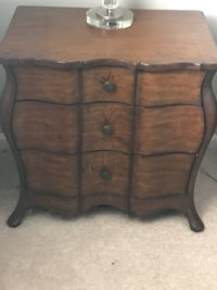 Used Brown Wooden Dresser With Mirror For Sale In Ridley