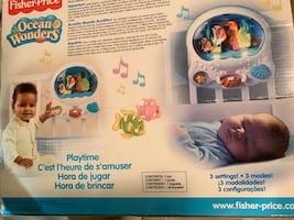Fisher price aquarium play and bedtime