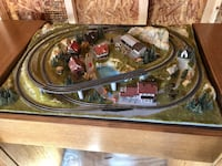 Marklin Z Scale Mini Train Lot w/ Diorama and Custom Cabinet Alexandria, 22306