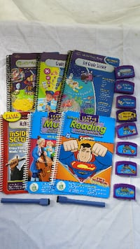 *Leap 2 and Quantum pad cartridges & books