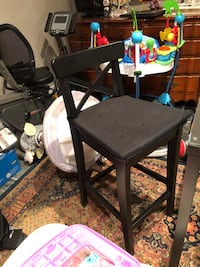 2 barstools with backrest Vaughan, L6A 3R9