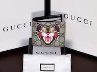 Gucci Tiger Leather Wallet Annandale, 22003