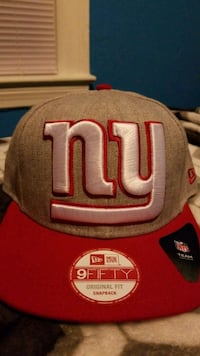 red and NY  fitted cap New Rochelle, 10801