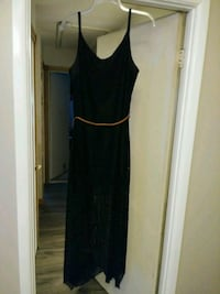 Women's black dress size XL 15-17 Brunswick