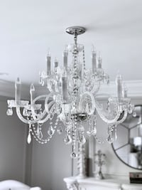 Charming Swarovsky Chandelier Crystal 12 lights Silver Spring, 20904