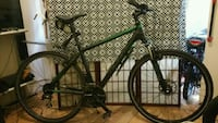 black and green hardtail mountain bike Vancouver, V6A 1S2