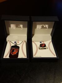 Baltimore Orioles Bundle: Men's Dog Tag & Ring