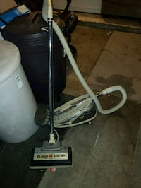 white and blue upright vacuum cleaner South Valley, 87105