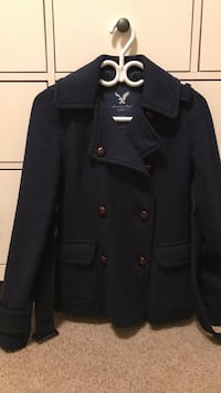 American Eagle XS navy jacket (PICKUP ONLY)
