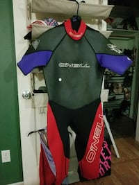 green and red wet suit Portland, 97220
