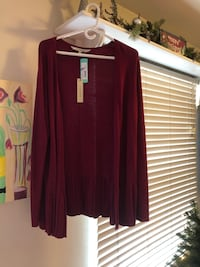 New with tags women's L sweater