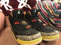 Black, yellow and red air Jordan's  Surrey, V3W 5Z7