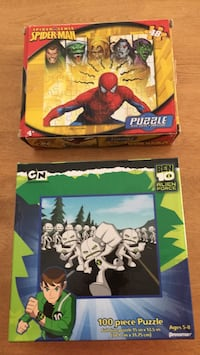 2 puzzles for $1.00, no missing pieces  Glassboro, 08028