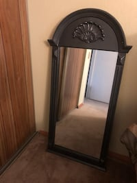 Black wooden framed wall mirror Tempe, 85282