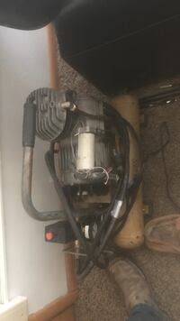 Nice air compressor works well comes with hose quite and double tank 150 obo Williston, 58801