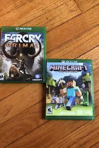 X-Box One Console games (price each)