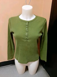 Chartreuse long sleeved shirt