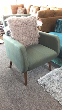brown and green glider chair Irving, 75062