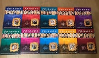 Friends DVD collection all seasons 554 km