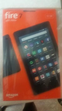 Brand New Amazon. Fire 7 Tablet And Brand new Black case
