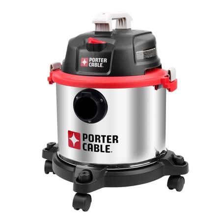 Porter Cable 5G Stainless Steel Vacuum