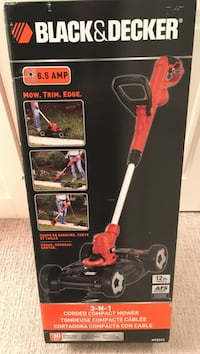 3-N-1 corded compact mower by Black&Decker Kelowna, V1W 5K5