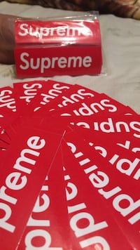Real supreme stickers Abbotsford