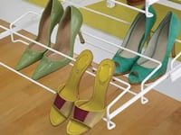 Container Store gliding shoe rack Arlington, 22206