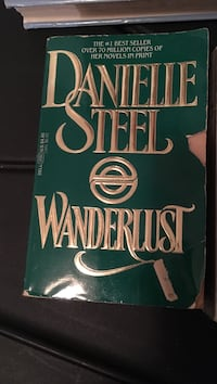 Wanderlust by danielle steel book for .15 cents