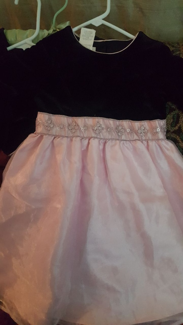 00f2258e8a1 Used toddler girl s black and pink tutu dress for sale in Tempe - letgo