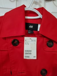 Brand New Red Jacket with tag